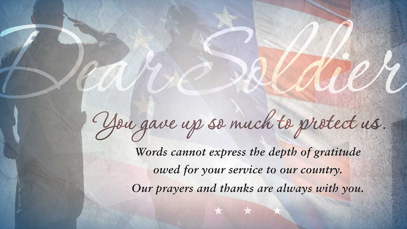 Thank a Veteran or Active Duty Service Member | Guideposts