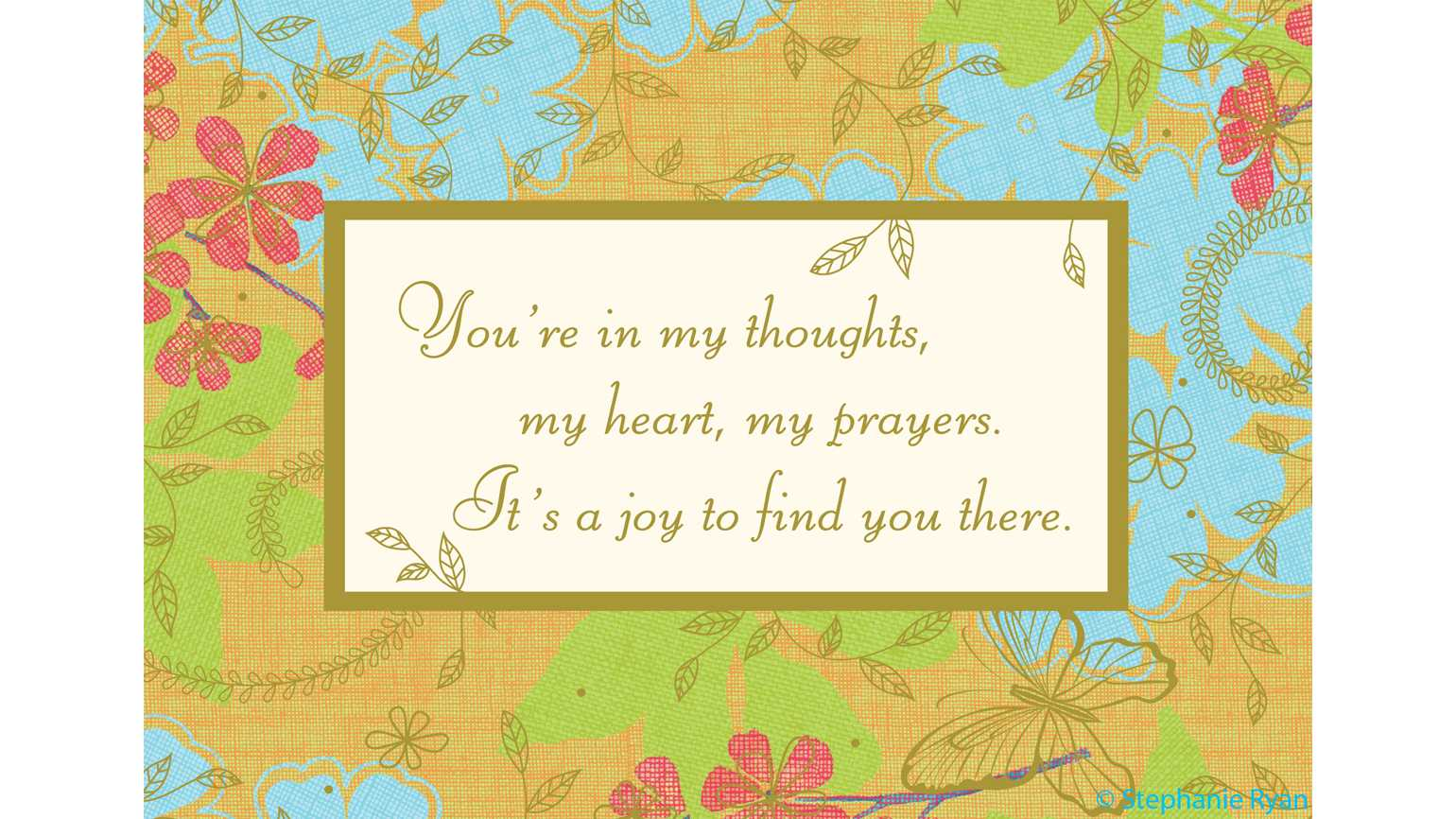 Sharing thoughts and prayers greeting card guideposts grid view m4hsunfo
