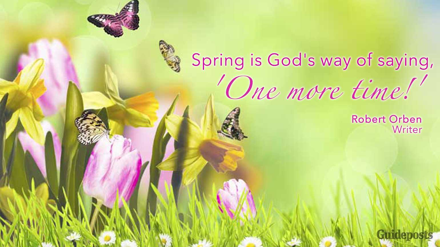 Inspiring Quotes For Spring Guideposts