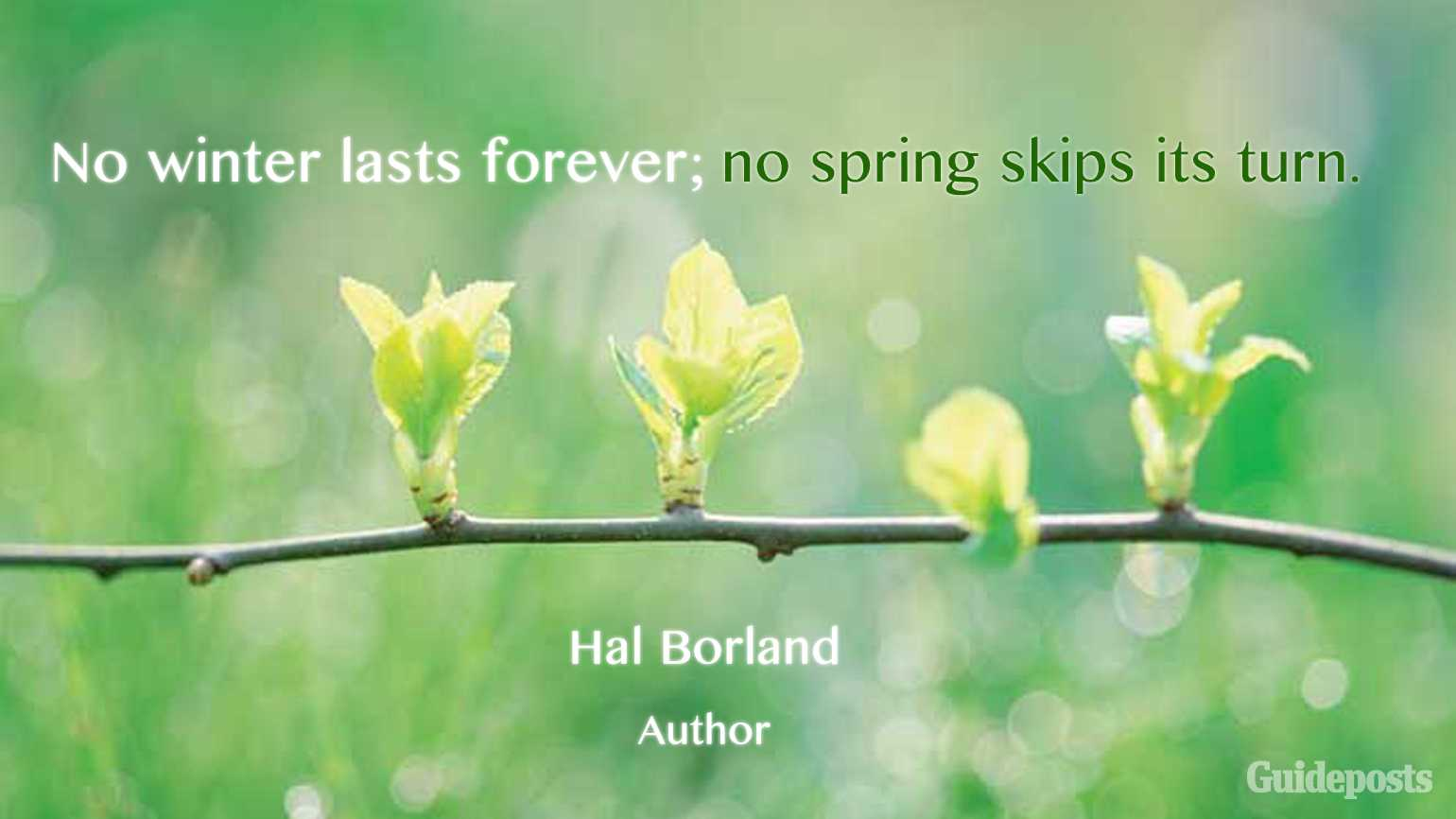 Inspiring Quotes for Spring | Guideposts