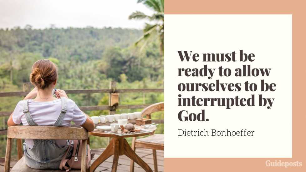 "7 Inspiring Quotes from Dietrich Bonhoeffer German Pastor ""We must be ready to allow ourselves to be interrupted by God."" Inspiration Inspirational Stories of Faith"