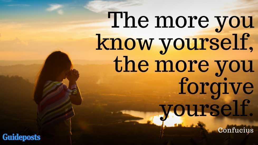 The more you know yourself, the more you forgive yourself. ― Confucius