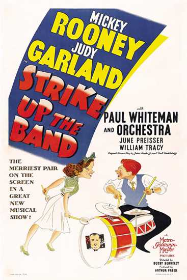 Strike Up the Band movie poster