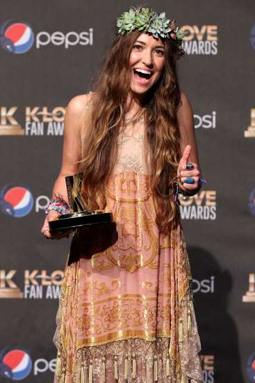 Lauren Daigle wins Worship Song of the Year at the KLOVE Fan Awards