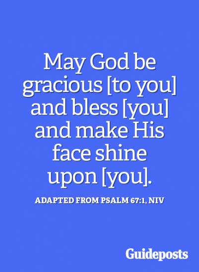 May God be gracious to you.