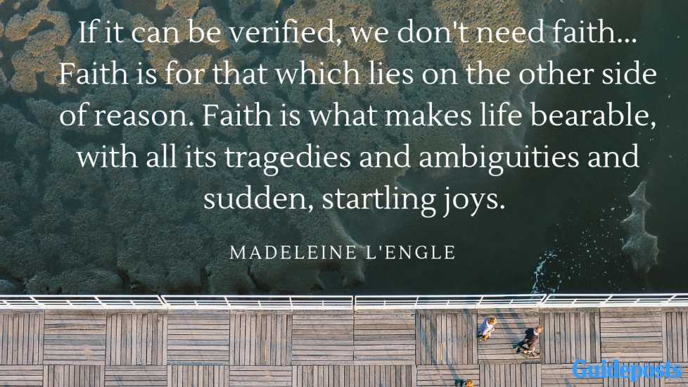 10 Inspiring Madeleine L\'Engle Quotes | Guideposts