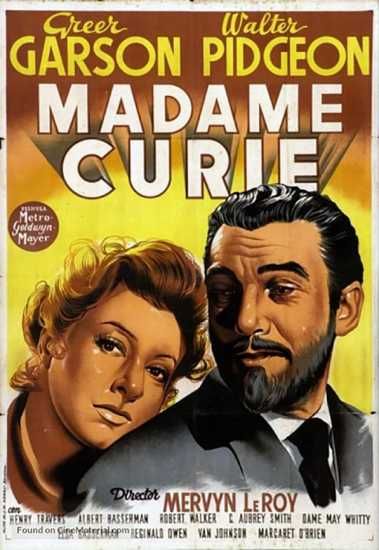Madame Curie movie poster