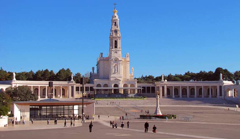 The Sanctuary of Fátima comprises a number of buildings on the site where three local children reported witnessing an angel and, later, the Virgin Mary.
