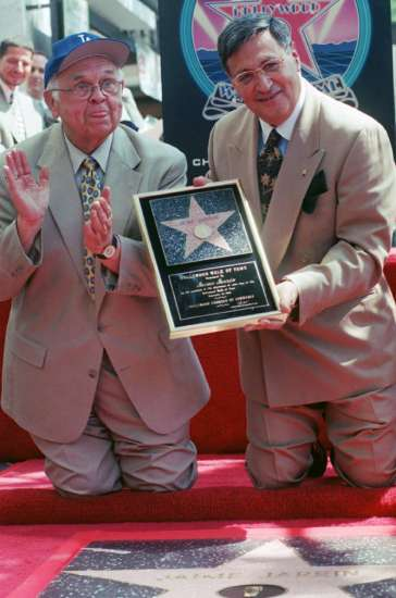 Jaime is awarded a star on the Hollywood Walk of Fame
