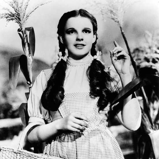 Dorothy on her Kansas farm