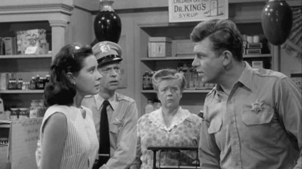 Andy Griffith in The Andy Griffith Show