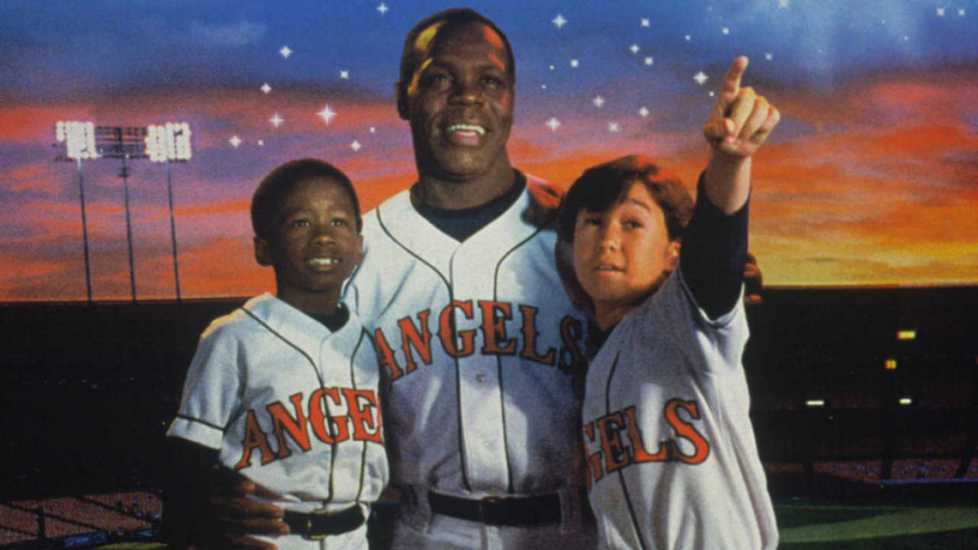 Cast of Angels in the Outfield