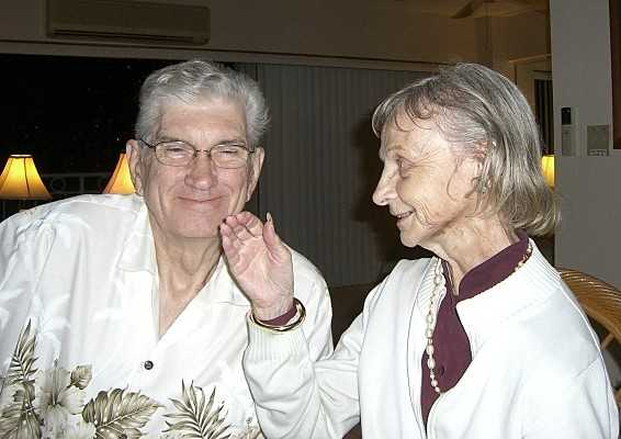 Richard and Arlene after Alzheimers diagnosis