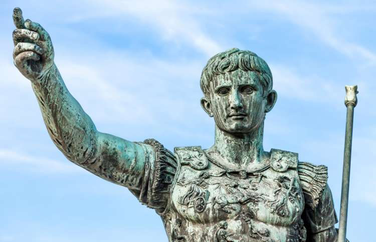 augustus caesar statue in rome the christmas story guideposts