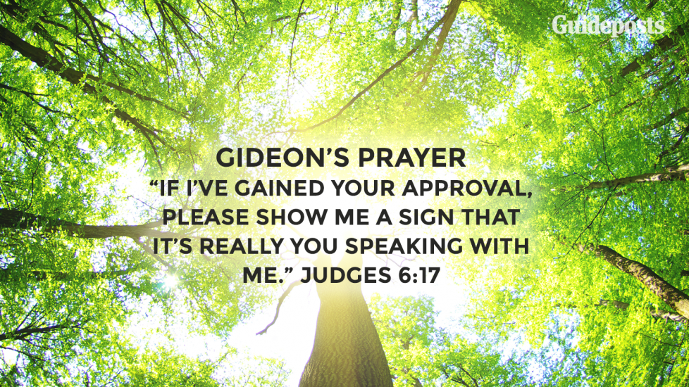 Gideon's Prayer