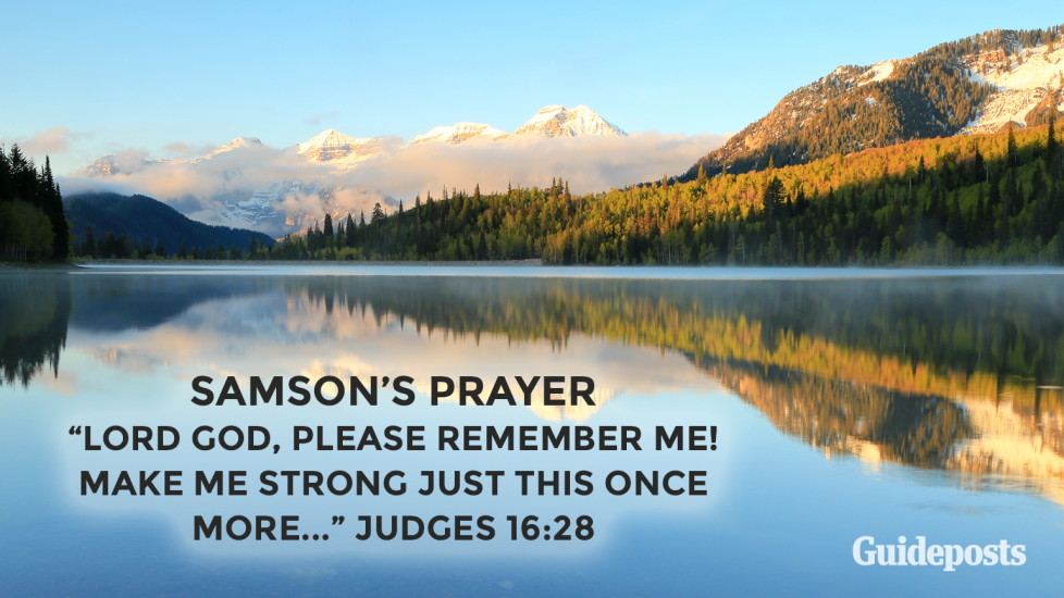 Samson's Prayer