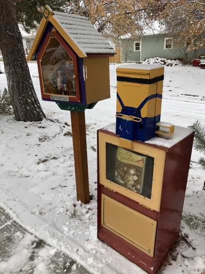 Little Free Library in Pocatello