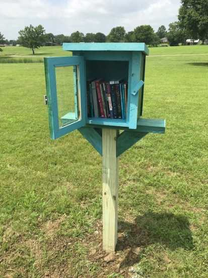 Little Free Library in Coffeyville