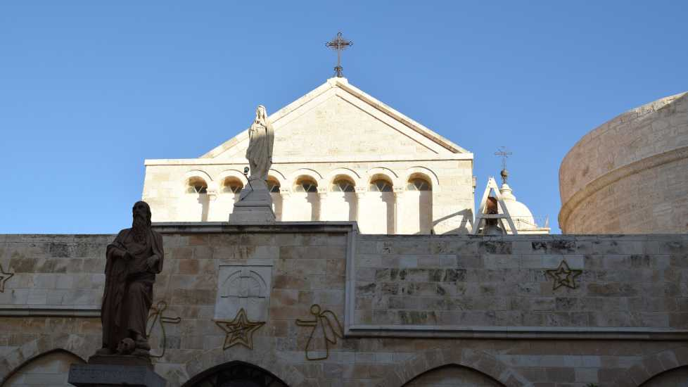 Church of the Nativity, Bethlehem, Photo credit: Brooke Obie
