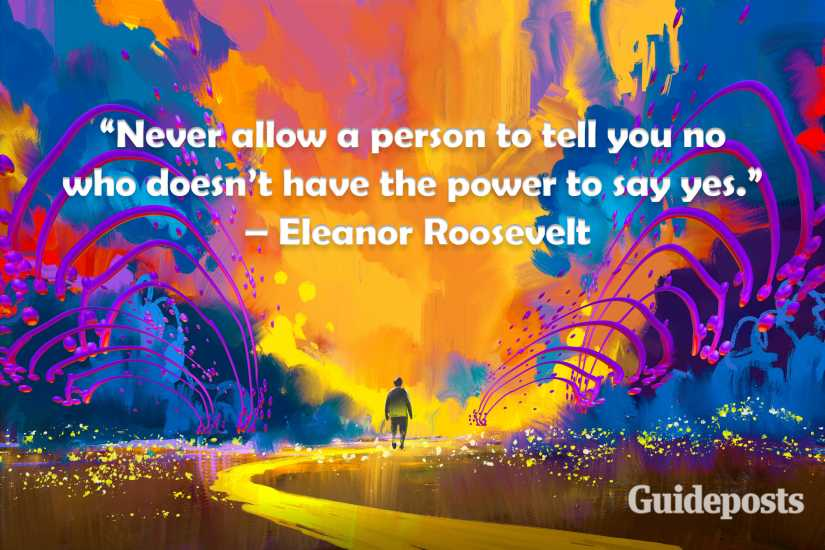 Eleanor Roosevelt creativity quote better living life advice finding life purpose