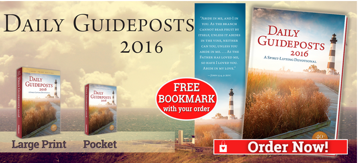 Purchase Daily Guideposts 2016
