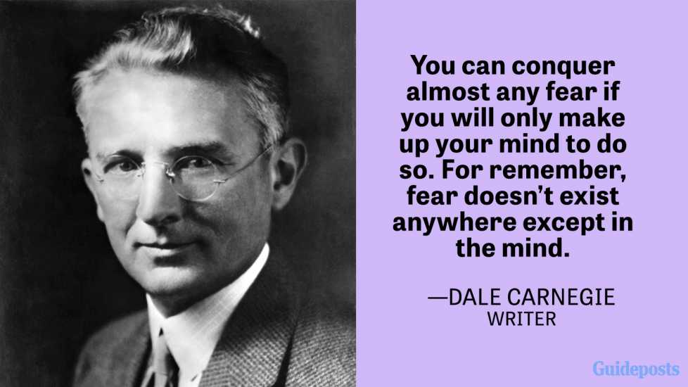 "Dale Carnegie, author of ""How to Win Friends and Influence People."" Head and shoulders portrait."