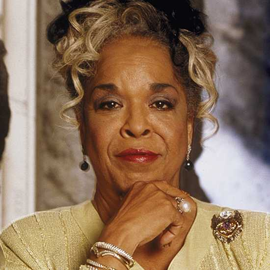 Actor, singer and ordained minister Della Reese