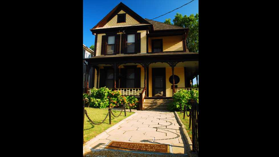 Dr. King Childhood home, Getty Images