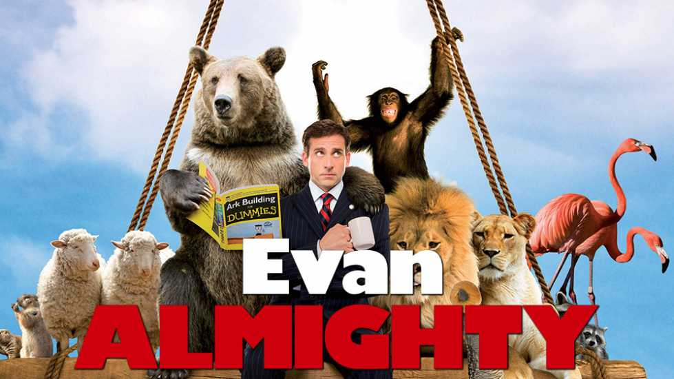 Movie poster for Evan Almighty