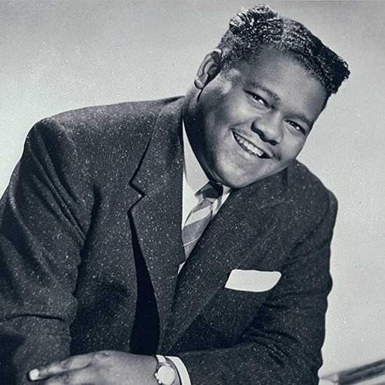Musician and rock 'n' roll pioneer Fats Domino