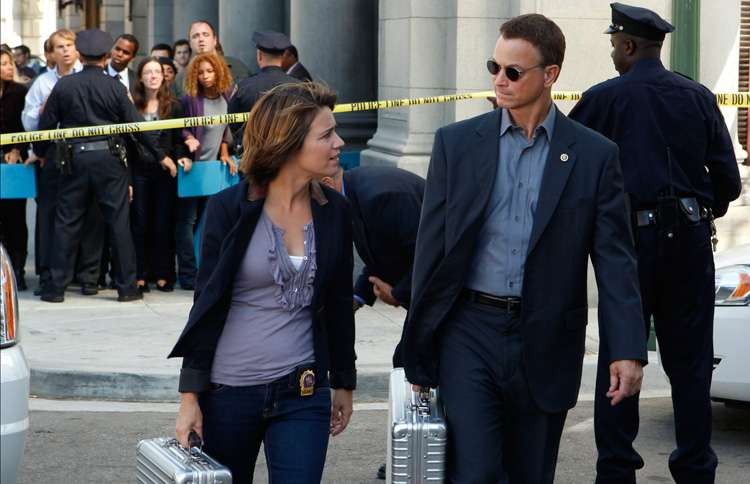 Guideposts: Gary Sinise as Macy Taylor in CSI: New York