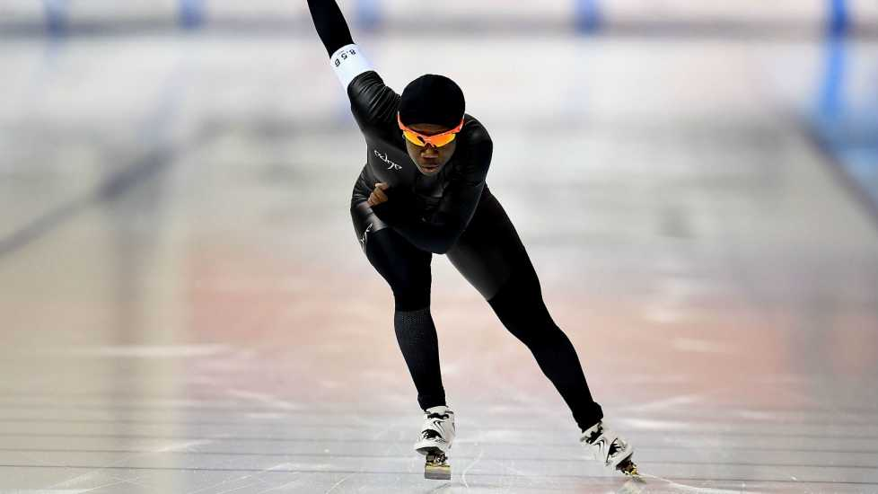 Speed Skater Erin Jackson