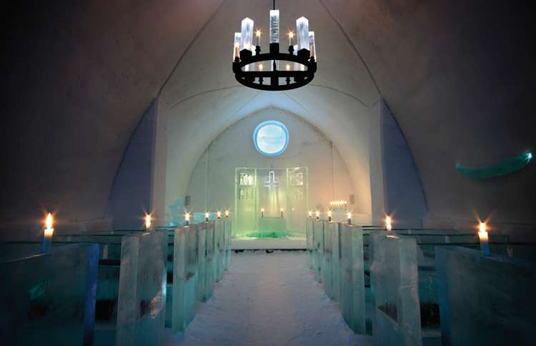 The Ice Chapel, Jukkasjärvi, Sweden