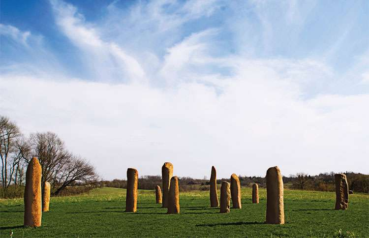 Guideposts: Iowa City's Sacred Stone Circle