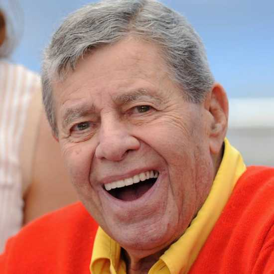 Actor, comedian and humanitarian Jerry Lewis