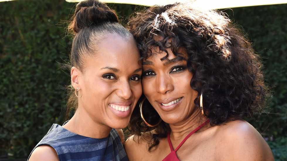 Kerry Washington and Angela Bassett