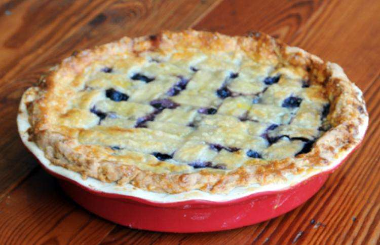 Guideposts: The perfect blueberry pie