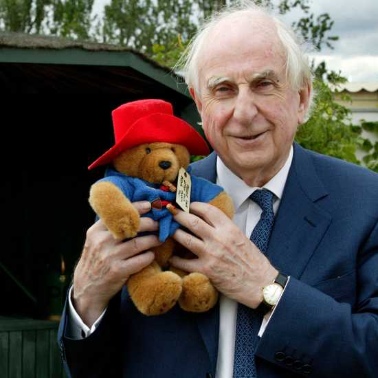 Author and Paddington Bear creator Michael Bond