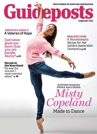 Misty Copeland, Guideposts February 2016 issue