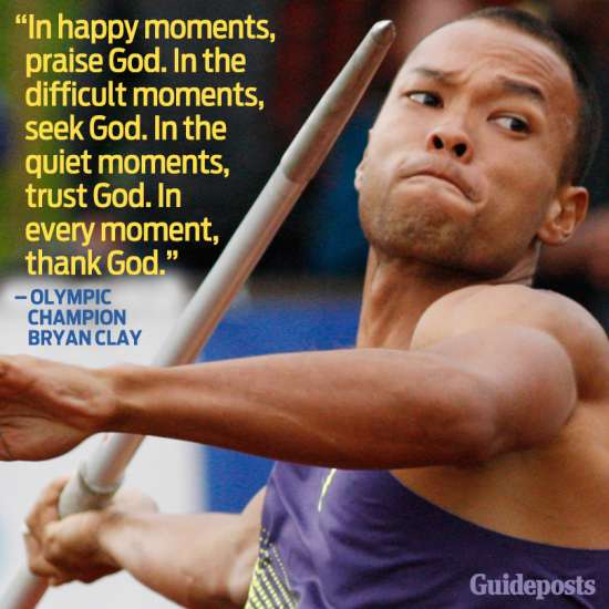 In happy moments, praise God. In the difficult moments, seek God. In the quiet moments, trust God. In every moment, thank God.