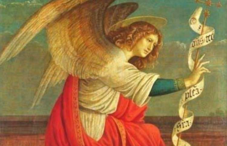 During the Renaissance, artists again began to be inspired by angels, portraying them not only as men but as youths and women. Angel wings became more elaborate and awe-inspiring, clearly showing the spiritual strength and purpose they were meant to convey. Above, The  Annunciation of Angel Gabriel by Gaudenzio Ferrari.
