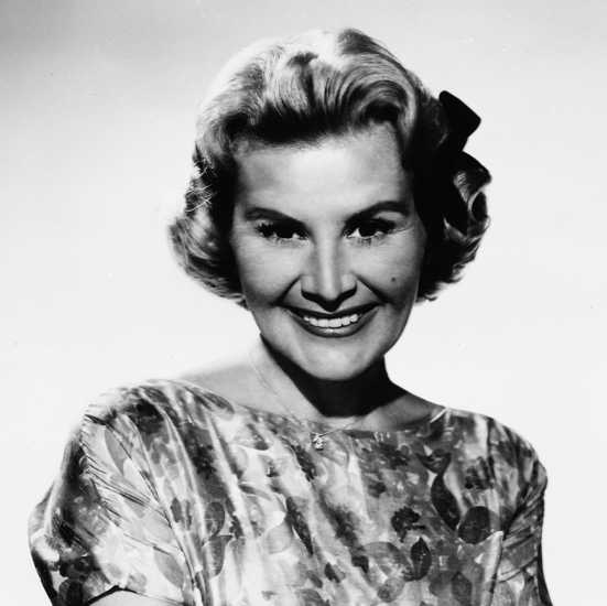 Actress and singer Rose Marie