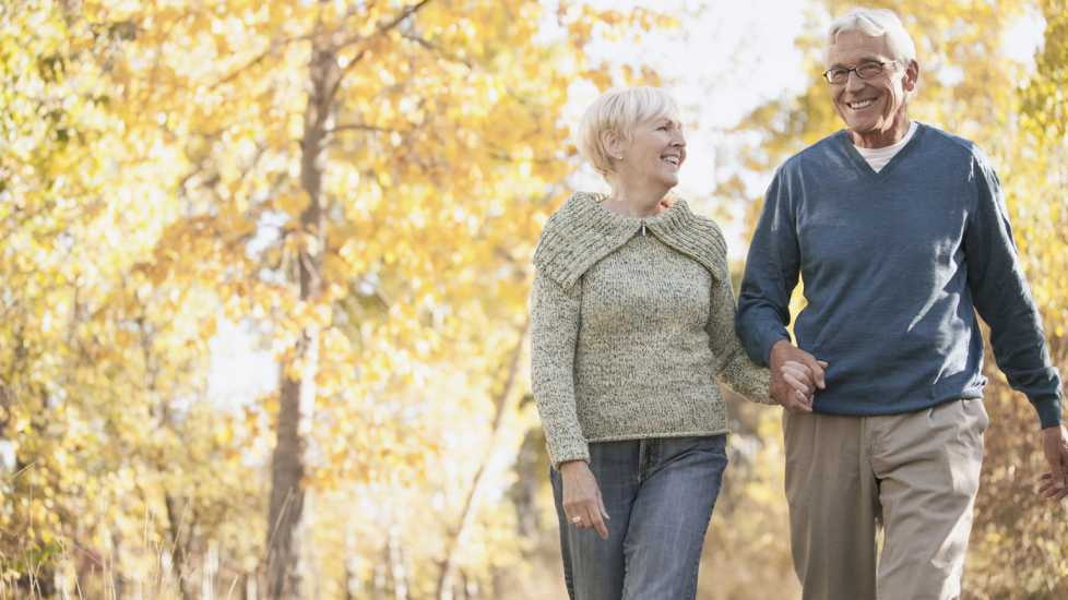The Power of Love: An elderly couple holding hands during the Autumn season. Mysterious Ways Editors Share what makes them feel awe inspiration miracles gods grace