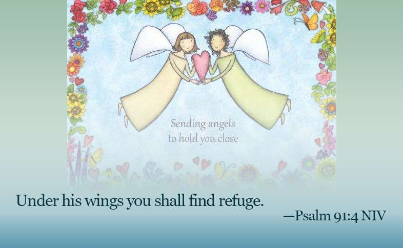 Someone Cares: Under his wings you shall find refuge. Psalm 91:4 NIV