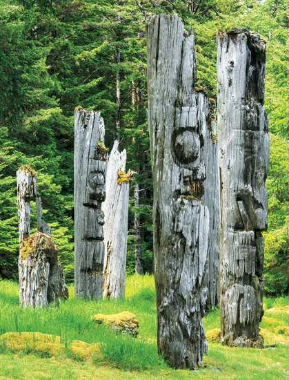 The Totem Poles of SGang Gwaaya