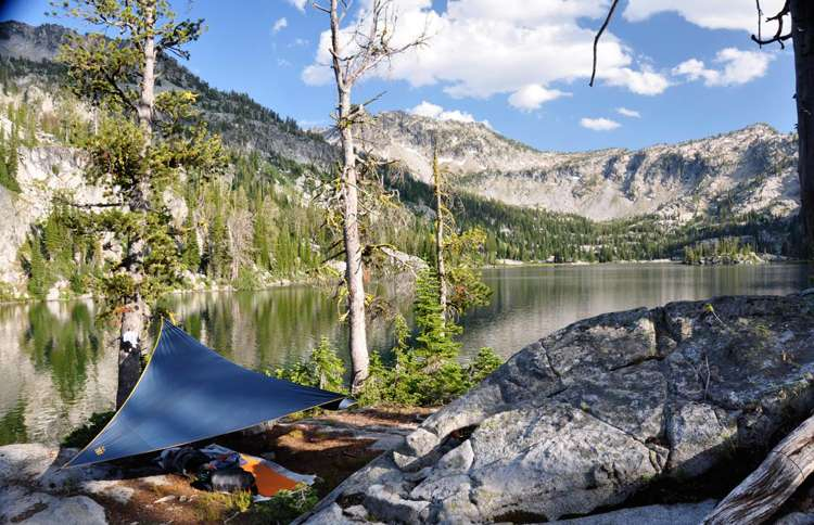 Eagle Cap Wilderness in Wallowa-Whitman National Forest, Oregon