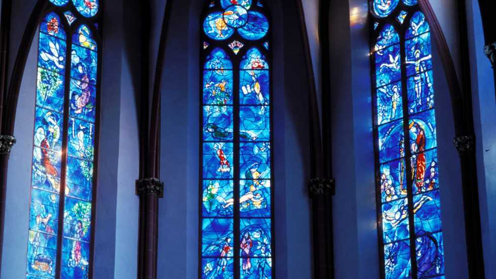 Chagall Windows, St. Stephen's Church, Mainz Germany