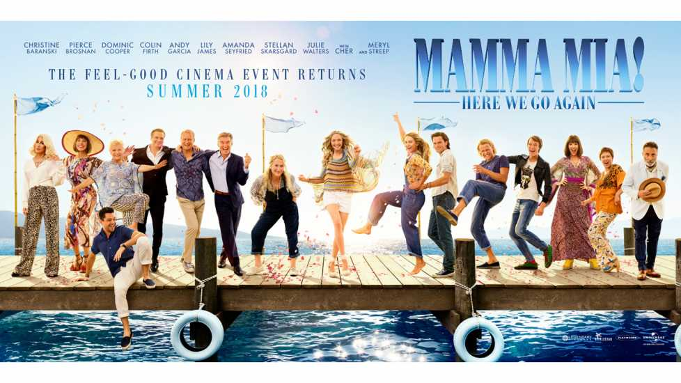 Promotional poster of 'Mamma Mia! 2'