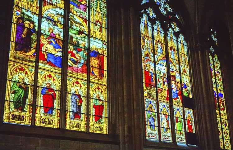 Guideposts: Majestic stained glass windows in the Cologne Cathedral