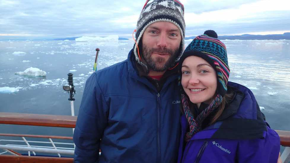 Brett and Sarah head off to the Arctic Circle.